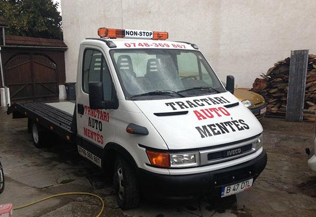 Oferim servicii de tractare auto pâna 3500 kg